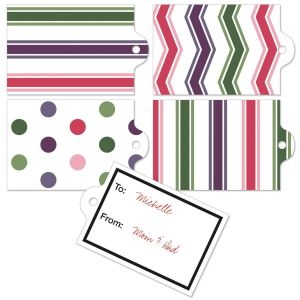 Candy Stripes & Dots To/From Labels