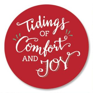 Tidings of Comfort and Joy Seals
