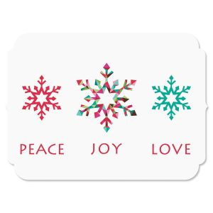 Snowflake Season Christmas Cards