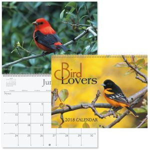 2018 Bird Lovers Calendar