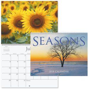 2018 Seasons Wall Calendar