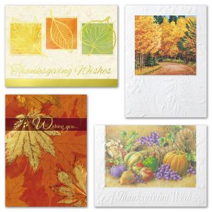 Deluxe Thanksgiving Assortment Cards