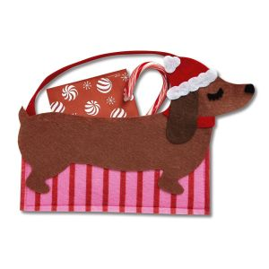 Dachshund Felt Treat Bags