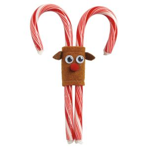 Reindeer Candy Cane Holders - BOGO