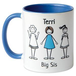 Big/Middle/Li'l Sis Mug