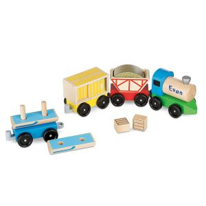 Personalized Cargo Train  by Melissa & Doug®