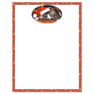 Picture This™ Christmas Cat Letter Papers