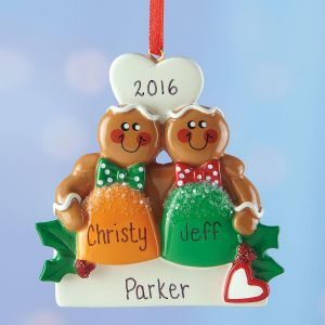 Personalized Gumdrop Couple Ornament