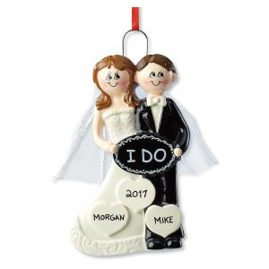 "Personalized ""I Do"" Ornament"