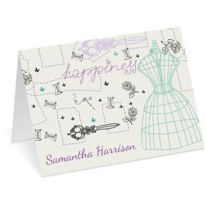 Sew Happy Note Cards