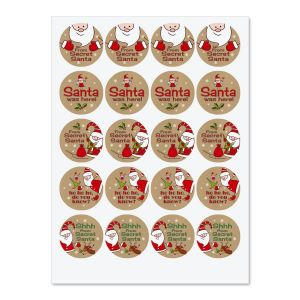 Christmas Stickers & Envelope Seals | Current Catalog