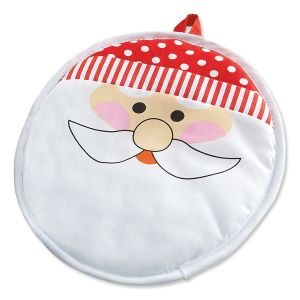 Santa Holiday Hot Pad