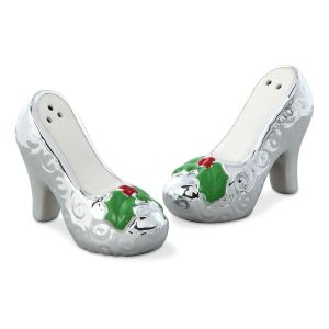 Fancy Christmas Heels Salt & Pepper Set