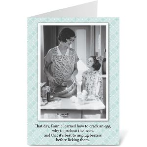 Baking Humor Mother's Day Card