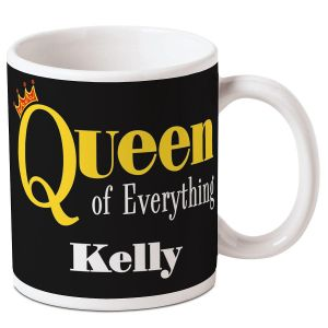 Queen Everything Personalized Mug