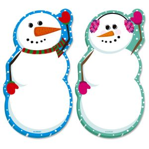 Snowman Sticky-Note Pads