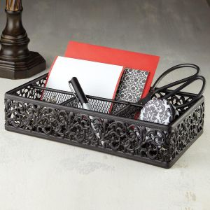 Metal Desk Organizer