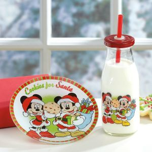 Mickey & Minnie Cookies for Santa
