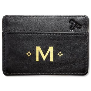 Personalized Black Safe ID Card Sleeve
