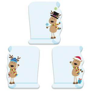 Reindeer Sticky Notes