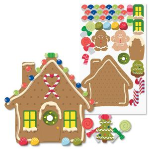 Decorate-Your-Own-Gingerbread House Stickers