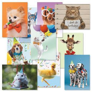 Kids Photo Birthday Cards Value Pack