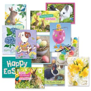 Easter Cards Value Pack