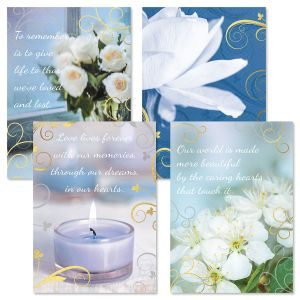 Deluxe Caring Sympathy Cards