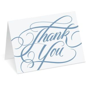 Formal Thank You Note Cards