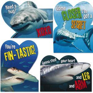 Shark Humor Kids Valentines