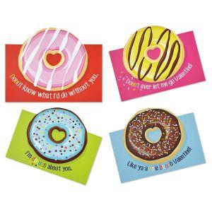 Diecut Donut Valentines