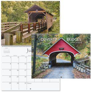 2018 Covered Bridges Wall Calendar