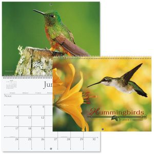 2018 Hummingbirds Wall Calendar