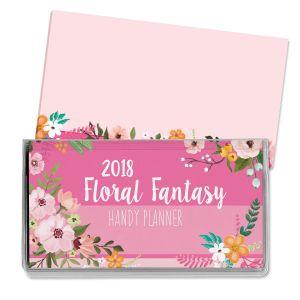 2018 Floral Fantasy Pocket Calendar