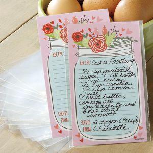 Spring Recipe Cards - 3 x 5