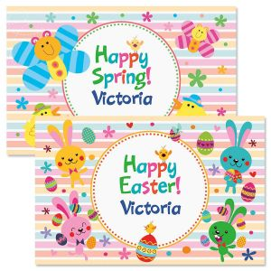 Personalized Easter Placemats