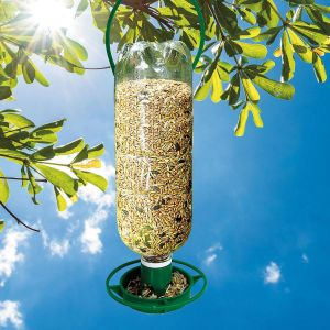 Bottle-Top Bird Feeders