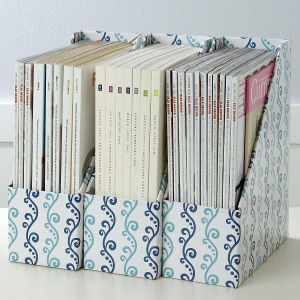 Scroll Pattern Magazine Holders