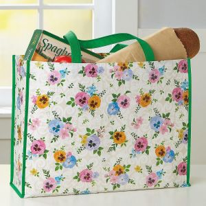 Vintage Flowers Tote Bag