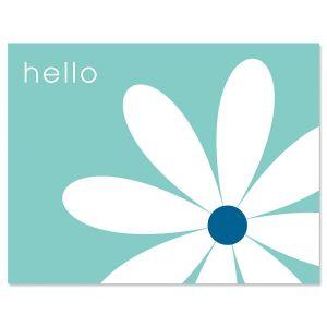 Hello Daisy Note Cards