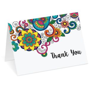 Doodletown Thank You Note Cards