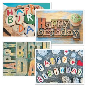 Playful Birthday Cards and Seals
