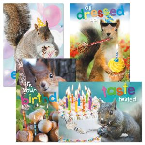 Nuts About You Birthday Cards and Seals