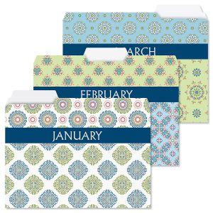 Fresh Patterns File Folders