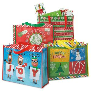 Christmas Totes  sc 1 st  Current Catalog & Christmas Gift Bags Holiday Gift Wrap Bags | Current Catalog