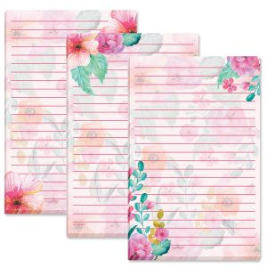 Spring Delight Lined Floral Notepads