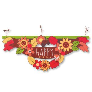Happy Fall Porch Banner