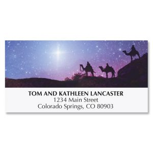 Night Star Deluxe Address Labels