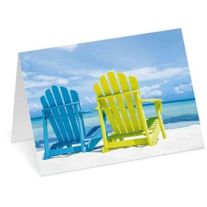Paradise Note Cards