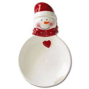 Snowman Christmas Spoon Rest - BOGO